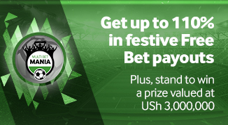Get up to 110% in festive Free Bet payouts